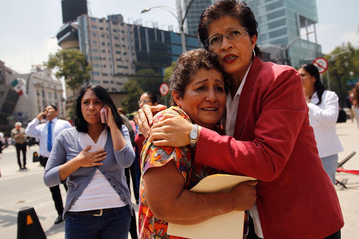 Así vivieron cuatro nicaragüenses el terremoto en México