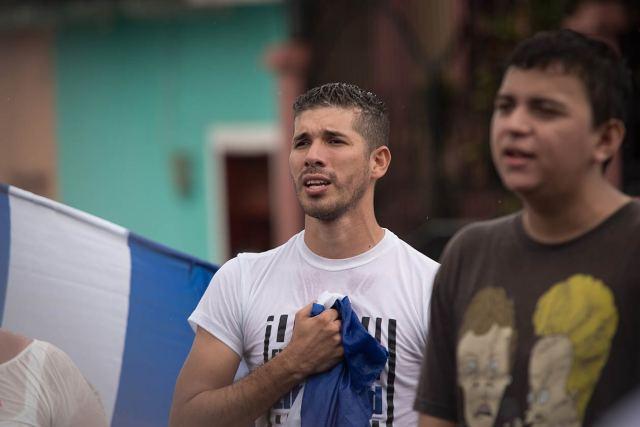 De todos los miembros de la Coalición Universitaria, Edwin Carcache, es quien más amenazas de muerte ha recibido, dicen sus amigos. Carlos Herrera | Niú