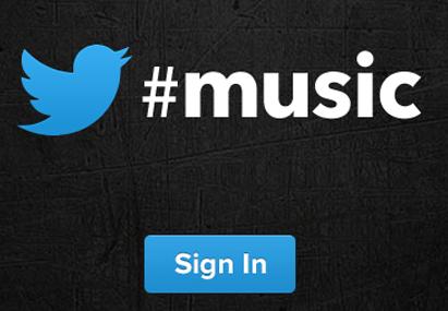 Twitter #music ya disponible