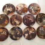 Nivag Collectables Bradex Norman Rockwell 11 Norman Rockwell Collectable Display Plates