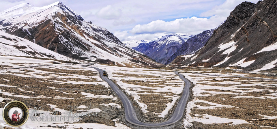 Winding roads of the Himalayas!