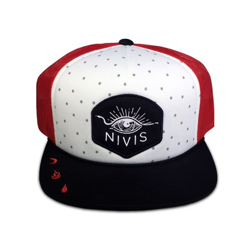hat vision quest white