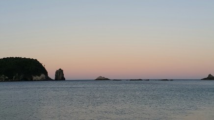 Hahei sunset