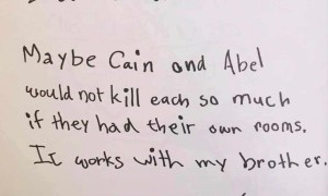 Grade 3 kids letters to God