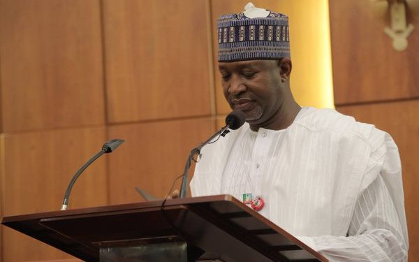 Minister of Aviation, Hadi Sirika,