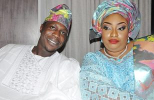 Olujonwo Obasanjo and Wife Tope