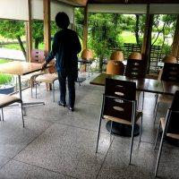 ラ・セル ⇒ ランチは品数が多い空港近くの喫茶店