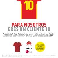 Danos un 10! Nueva campaña en nuestras tiendas para celebrar la Eurocopa.