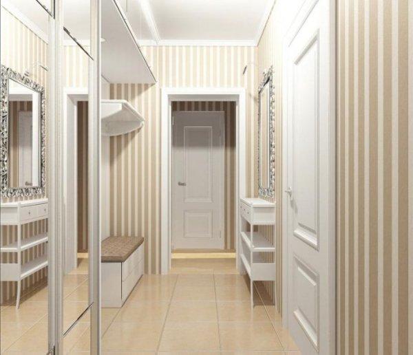 Дизайн маленькой прихожей фото минимализм мебель