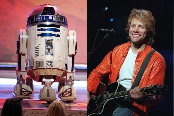 Jon Bon Jovis 1980 Song R2 D2 We Wish You A Merry