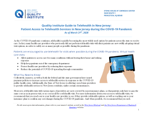 Click to Download Telehealth Guide