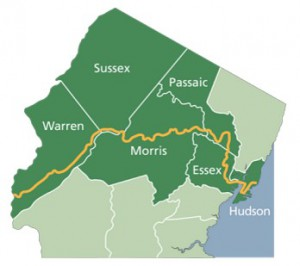 "Proposed route of the Morris Canal Greenway. Source:  <a href=""https://sites.google.com/site/morriscanalworkinggroup/"">Morris Canal Working Group</a>"
