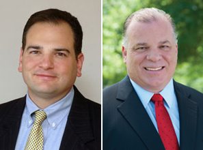 Image of Senator Nicholas P. Scutari (D) and Senator Stephen M. Sweeney (D)