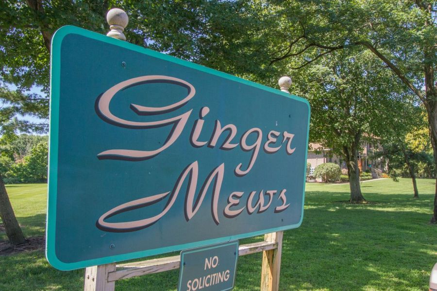 Ginger Mews Condos Tinton FALLS Sign