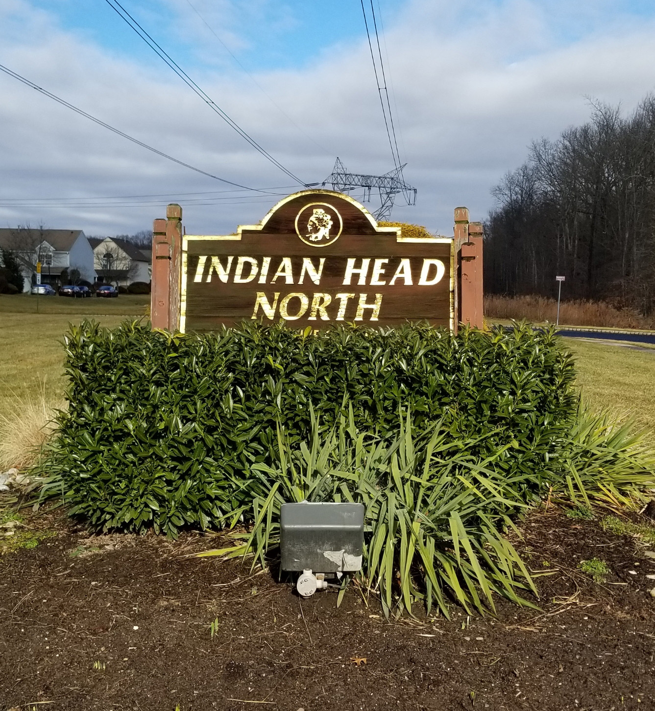 Indian Head Condos North Brunswick sign