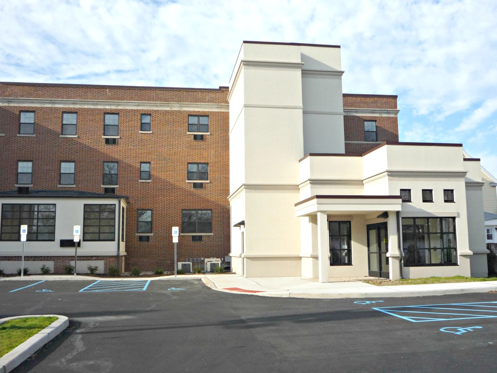 New Jersey Connect Apartments At St Elizabethu0027s   Main Entrance