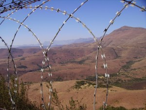 Boarder Barbed Wire