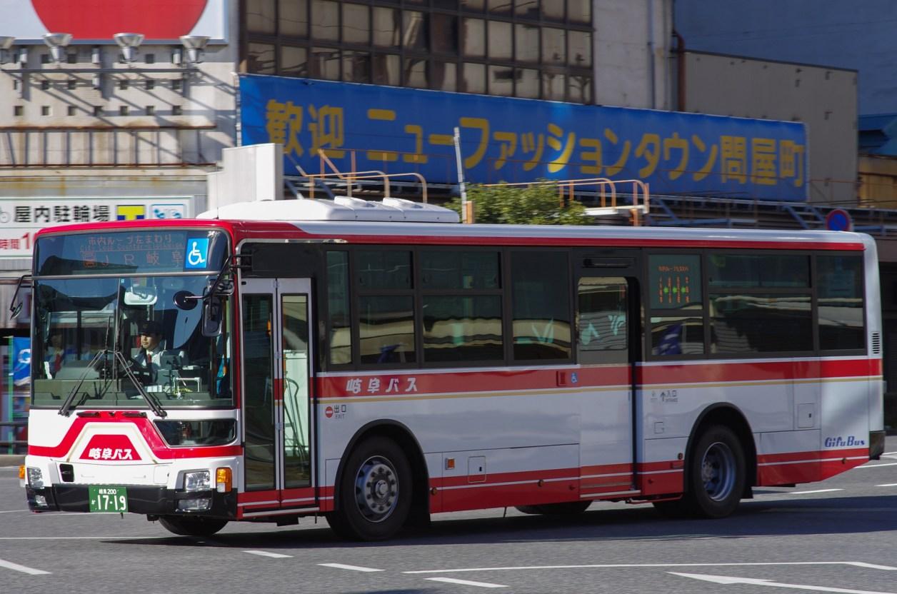 JR岐阜にて 2016.1