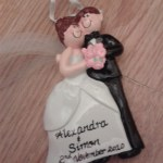 Newlyweds Christmas Tree Ornament
