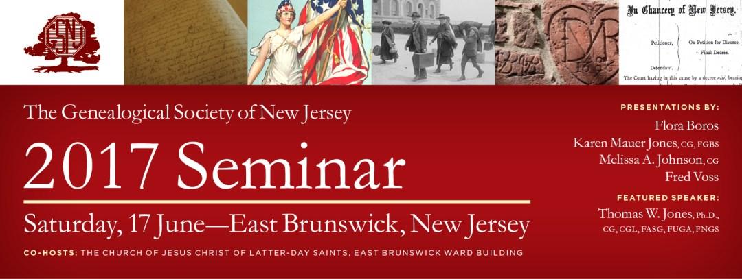 GSNJ 2017 Seminar @ Church of Jesus Christ of Latter-day Saints, East Brunswick Ward | East Brunswick | New Jersey | United States