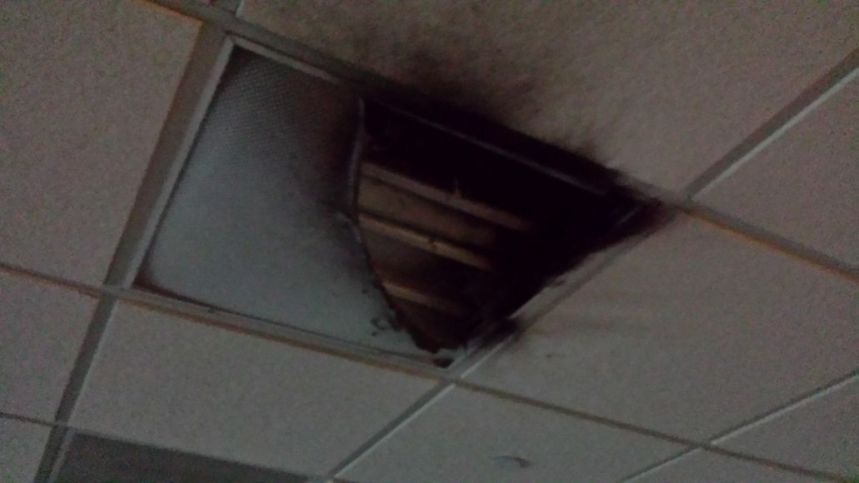 Fire Breaks Out in Game Room: Quick thinking prevents further damage