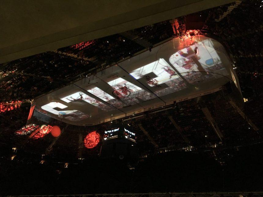 Devils Host Red Carpet Party Plaza