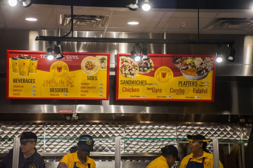 Food Review: The Halal Guys Officially on Halsey