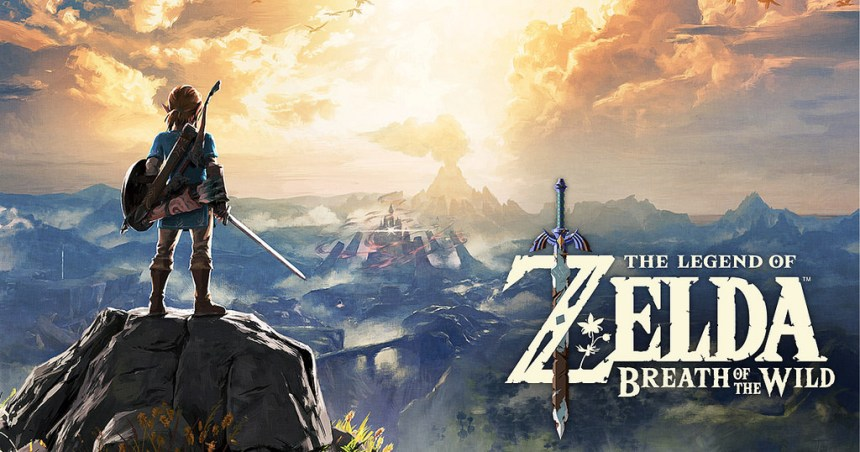 Zelda: Breath of the Wild Took My Breath Away