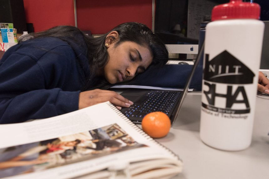 Why Aren't NJIT Students Sleeping?