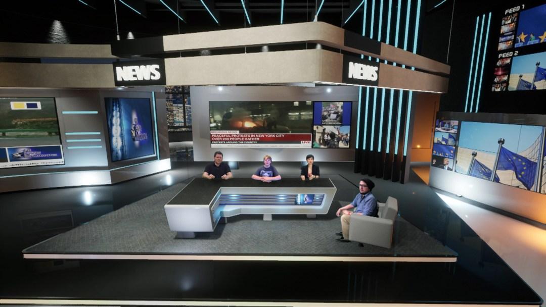 Newsroom Set