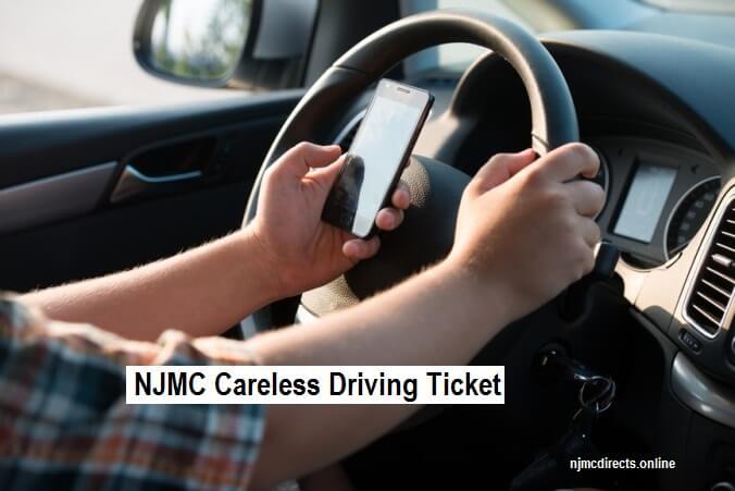 NJMC Careless Driving Ticket