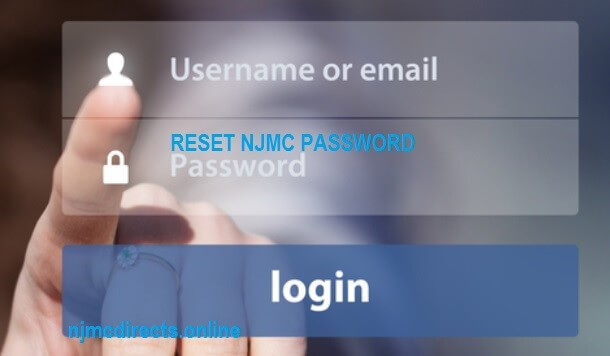 njmc username and password reset