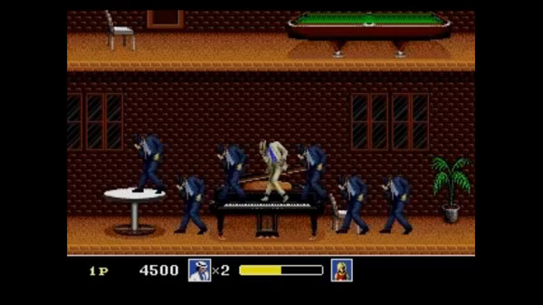 Michael Jackson's Moonwalker on the Sega