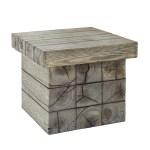 Manteo Rustic Coastal Outdoor Patio Side Table Njmodern Furniture