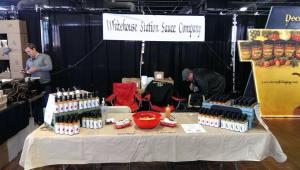 Company at NYC Hot Sauce Expo