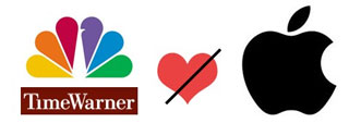 Time Warner and NBC pass on iPad