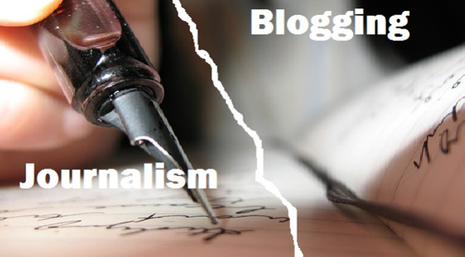 Bloggers v Journalists