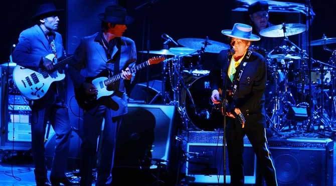 Bob Dylan on China tour