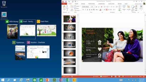 Snap Improvements Windows 10