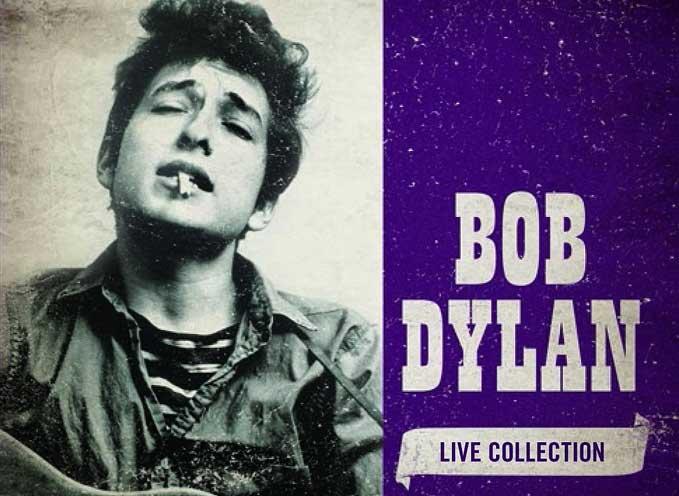 Bob Dylan Live Collection 5 CD set
