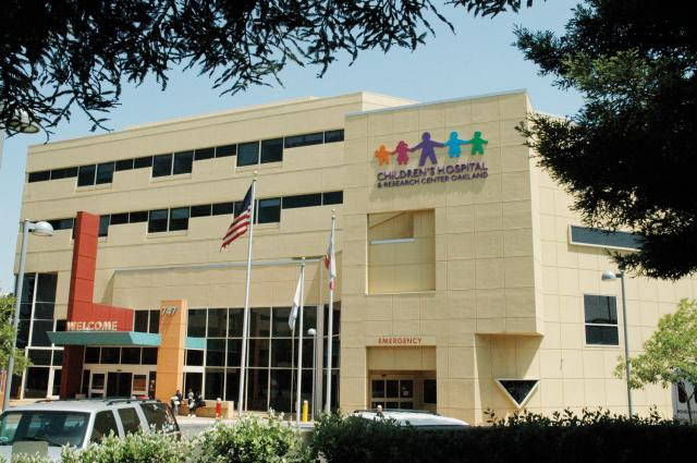 Oakland Children's Hospital (supplied photo)