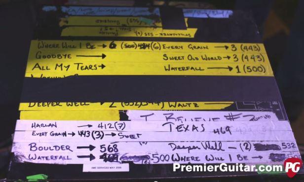Daniel Lanois's Korg SDD-3000 settings for Emmylou Harris