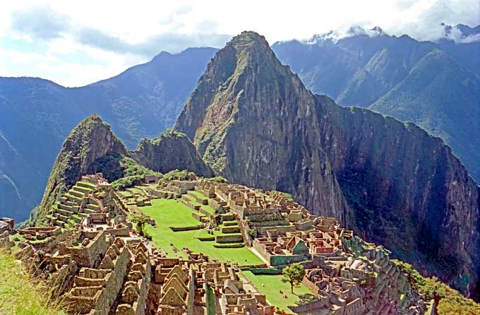 Machu Picchu Dennis Jarvis
