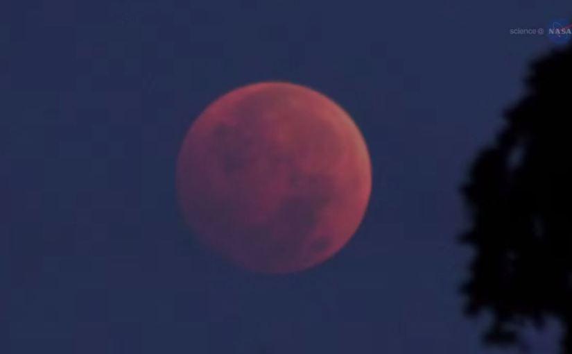 Lunar Eclipse NASA