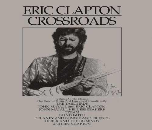 Eric Clapton Crossroads Box Set