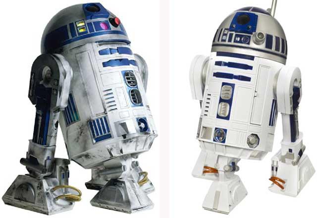 R2 D2 Droids