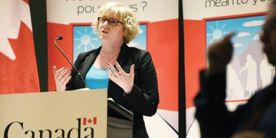 The Honourable Carla Qualtrough, Minister of Sport and Persons with Disabilities (photo DurhamRegion.com)