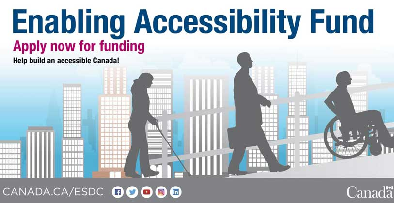 Canada Enabling Accessibility Fund accepting proposals until July 26, 2017
