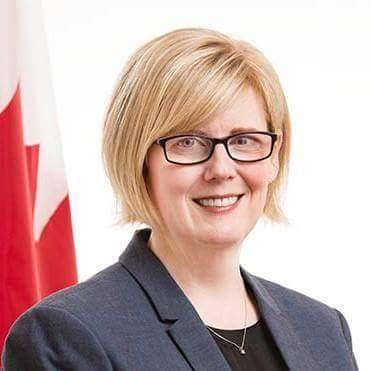 Carla Qualtrough, Minister of Sport and Persons with Disabilities (photo Twitter)