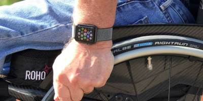 Apple Watch Series 3 has wheelchair specific apps (photo NJN Network)
